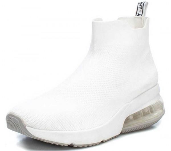 High Top Sock-Sneaker von Xti aus Spanien, weiß (blanco)