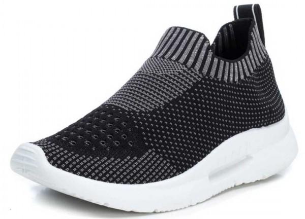 Super bequeme Sock Sneakers von Xti aus Spanien, schwarz
