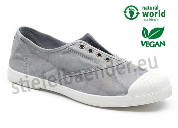 Veganer Sneaker 102E in gris claro (grau)