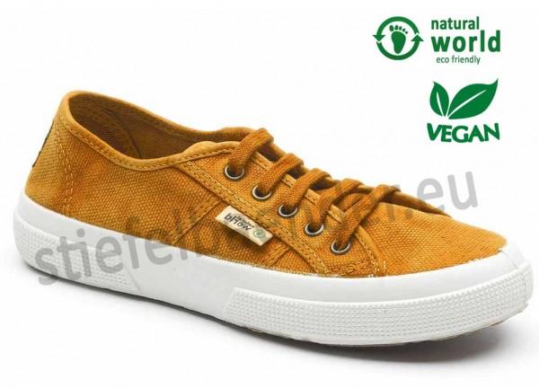 Vegane Sneaker von Natural World aus Spanien Farbe cuero