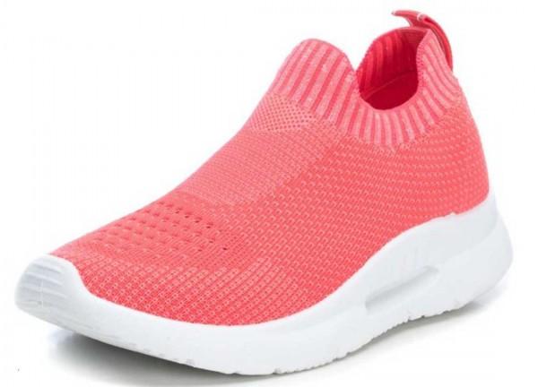 Super bequeme Sock Sneakers von Xti aus Spanien, koralle (coral)