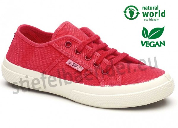 Vegane Sneaker in rot (Farbe rojo)