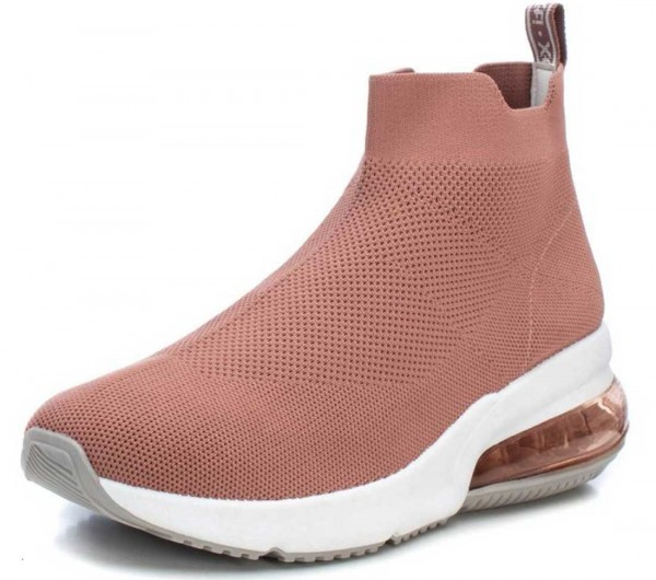 High Top Sock-Sneaker von Xti aus Spanien, nude