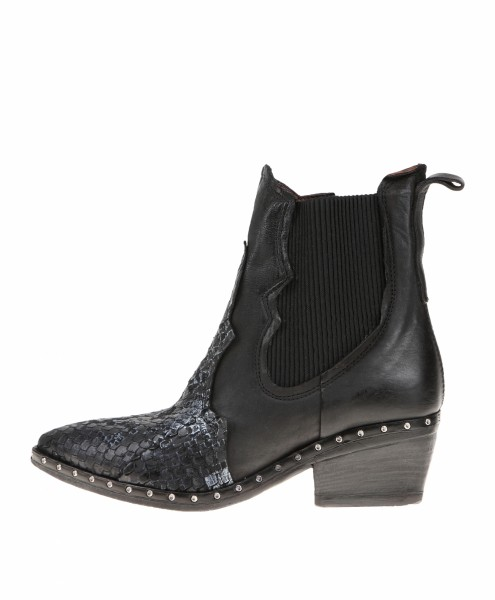 A.S.98 (Airstep) Cowboy-Stiefelette Farbe: nero