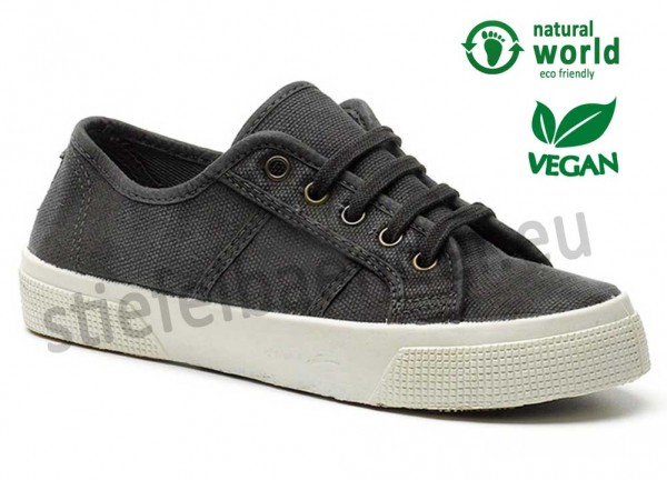 Veganer Sneaker 901E in schwarz (negro)