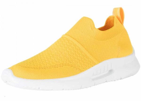 Bequemer Sneaker aus Spanien, Stretch, Farbe gelb (amarillo)