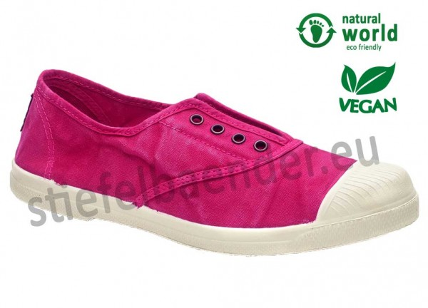 Veganer Sneaker 102E in fucsia (pink)