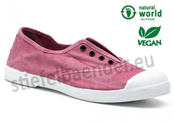 Veganer Sneaker 102E in rosa