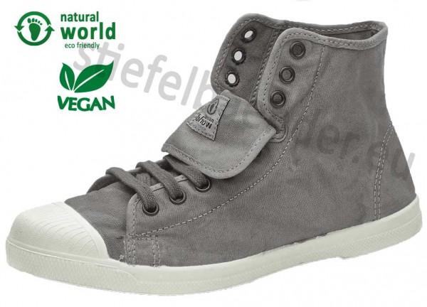 Natural World 107E - Vegane Sneaker, Farbe 670 Gris Claro (grau)